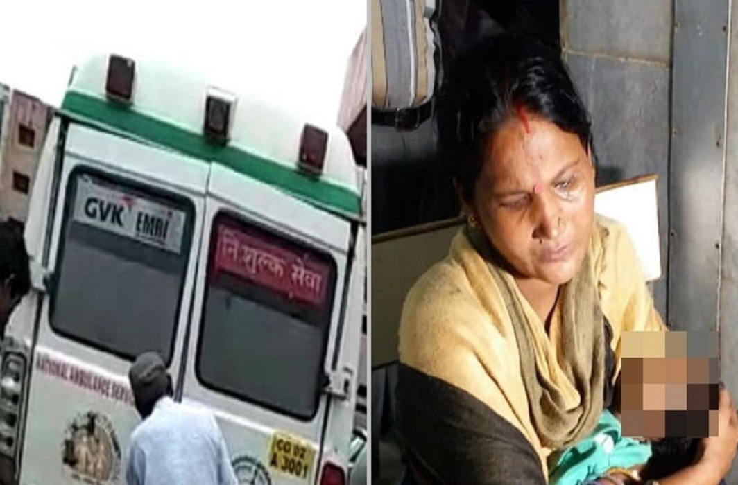 2 months child death due to negligence of Ambulance Driver in Chhattisgarh