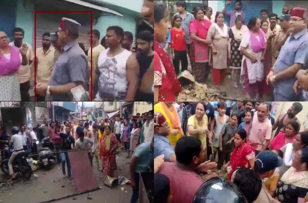 After the CM, BJP MLA Khajandas is a hunter, Women throw stones