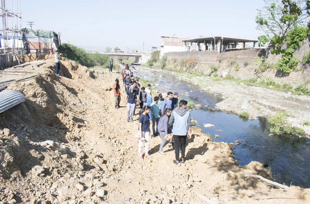 After the billions of budget passes, the situation of the river Rishna is pathetic