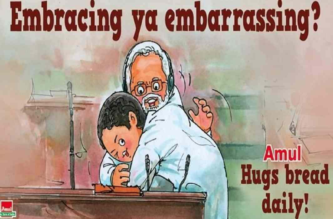Amul interest in Embracing Rahul Gandhi's PM Modi