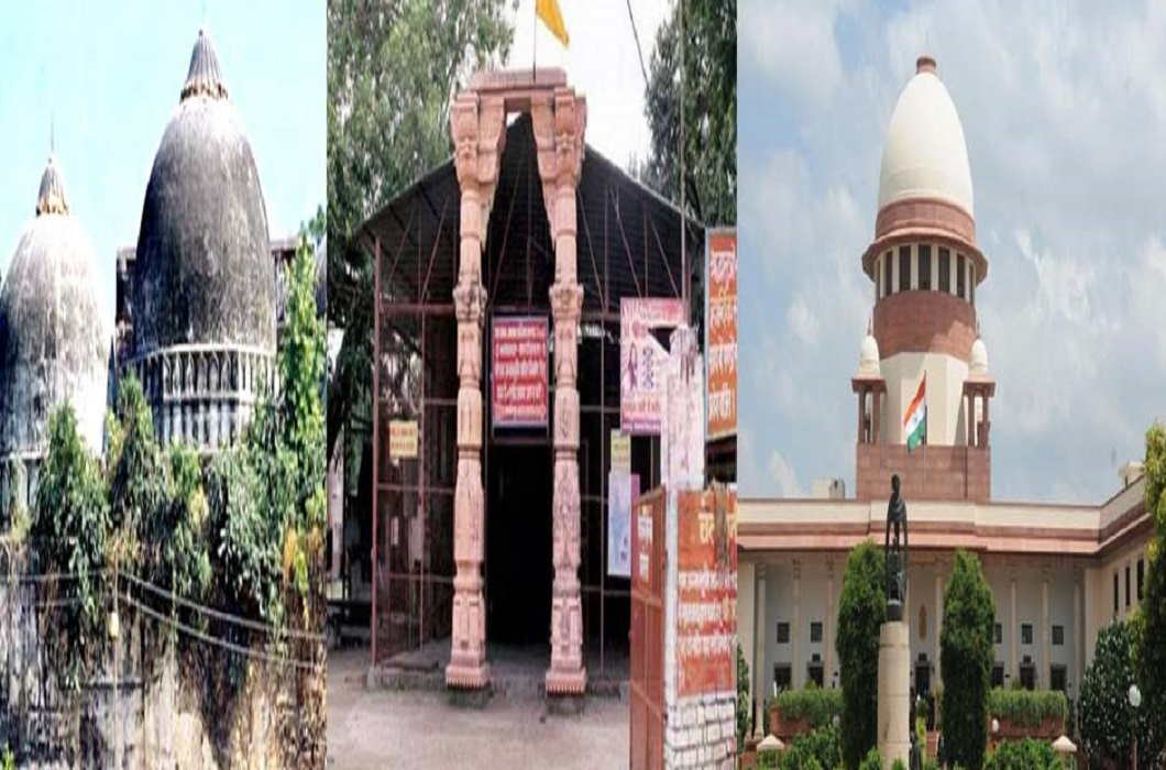 Ayodhya case - Then raising Ismail Farooqi case, UP said trying to hang main case