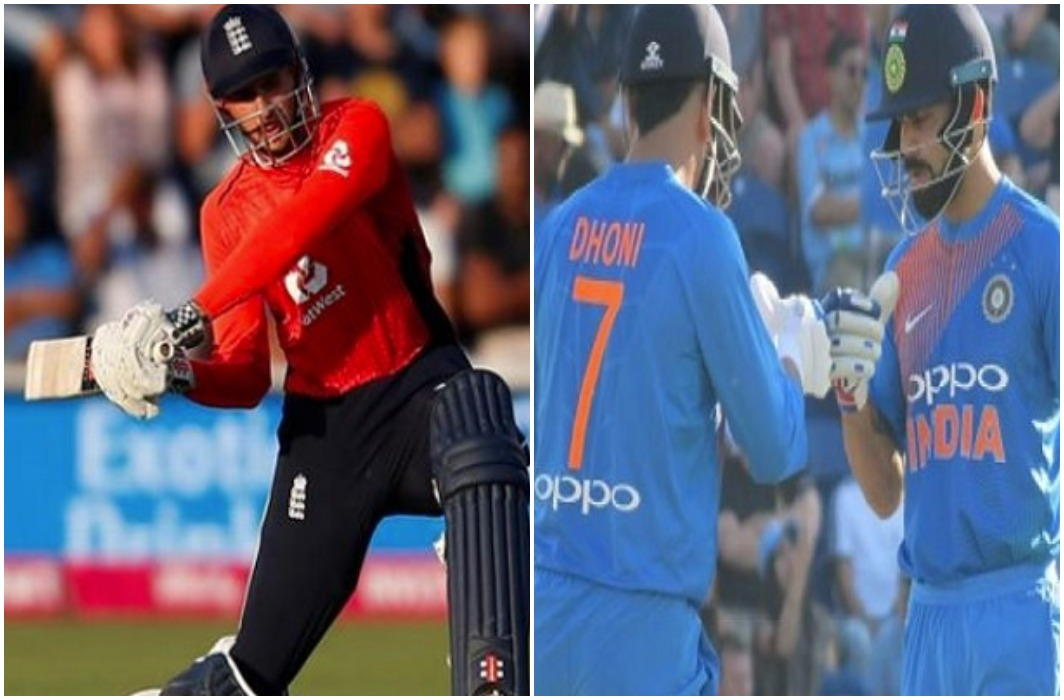England equals the series by winning the second match