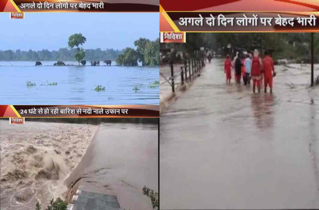Flood situation in Madhya Pradesh