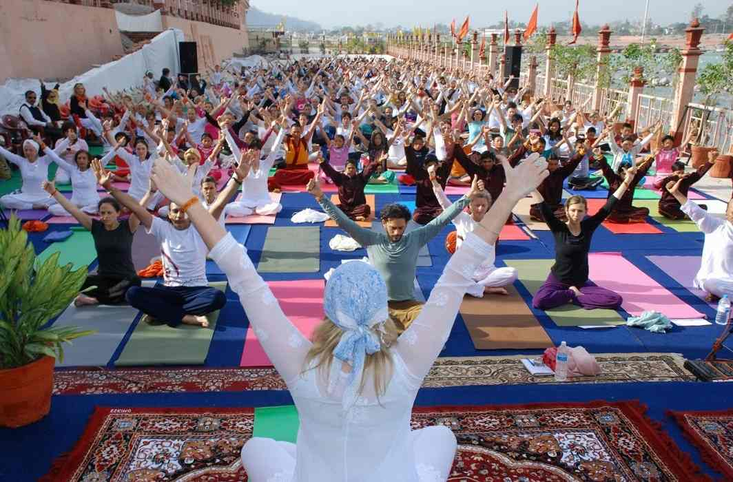 Haridwar is becoming the center of yoga For foreign