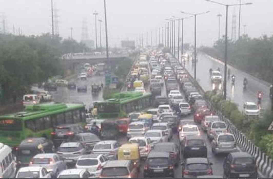 Heavy Rains in Delhi-NCR