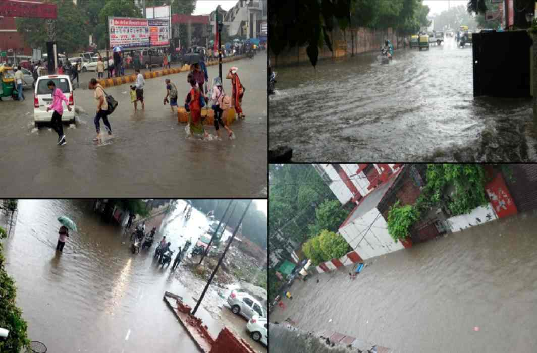 Heavy Rain in UP