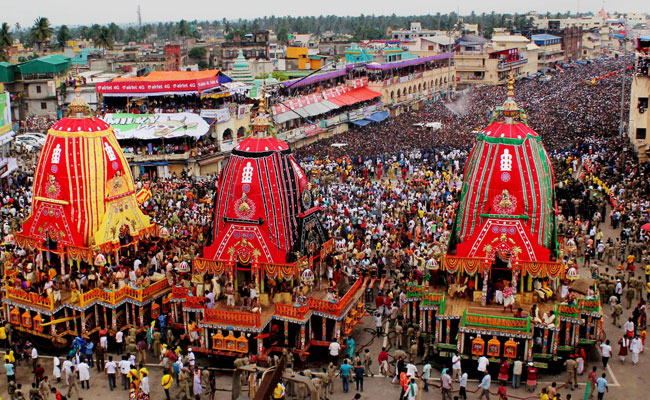 Jagannath Rath Yatra starts, Amit Shah joins