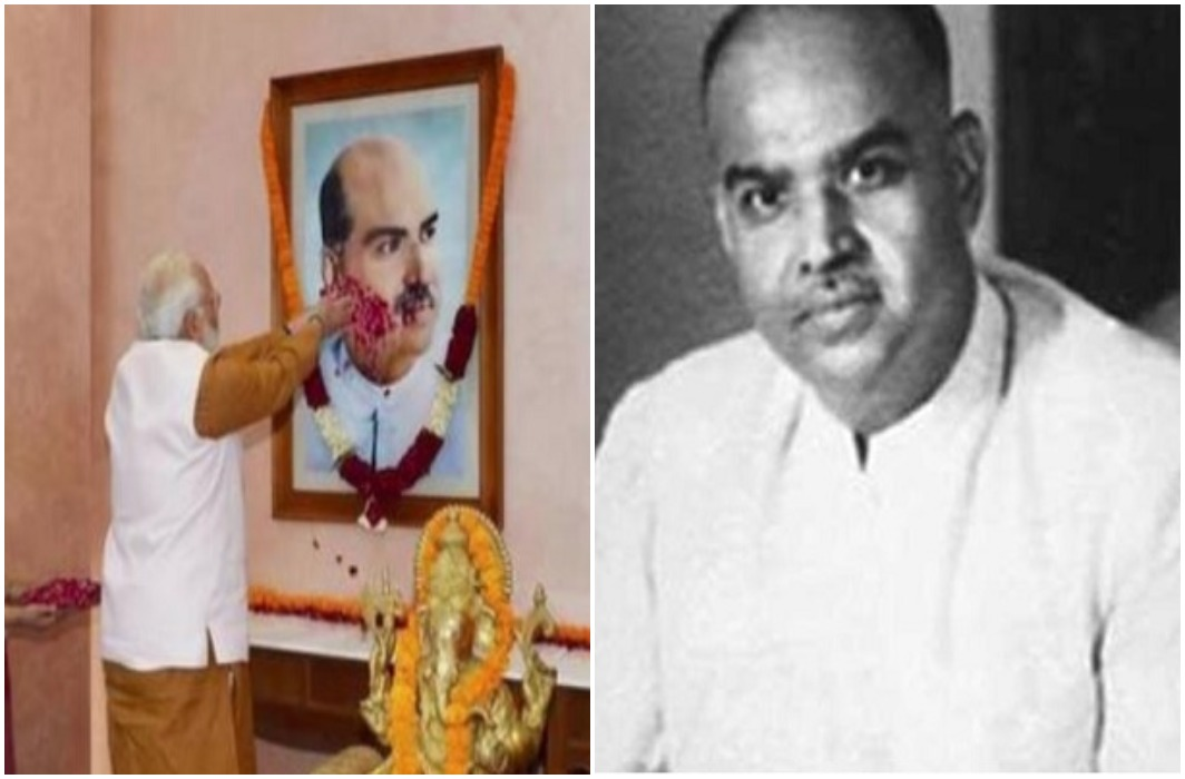 Jana Sangh's founder Shyama Prasad Mukherjee's birth anniversary today, BJP leaders paid tribute