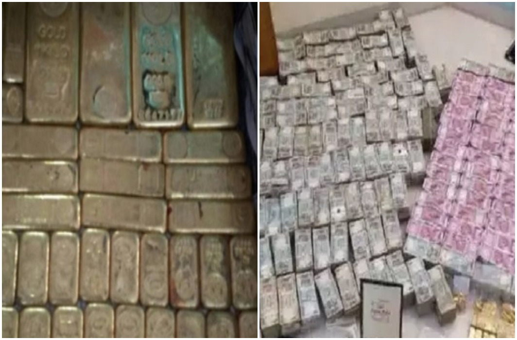 Lucknow: 100 kg of gold and 10 million cash seized in the income tax raids