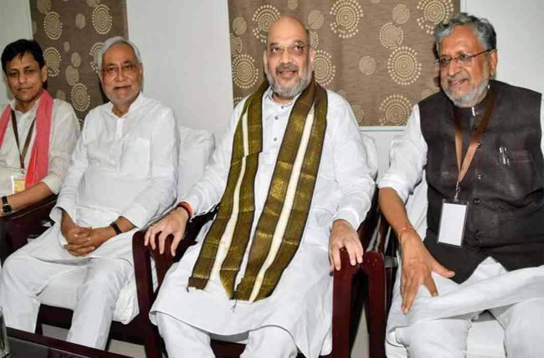 Mission 2019: BJP President Amit Shah arrives in Bihar,मीटिंग with CM Nitish Kumar