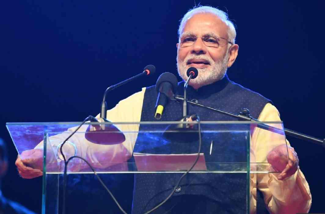 PM Modi speaks in Uganda - 'Made in India' smartphones and cars will be available soon
