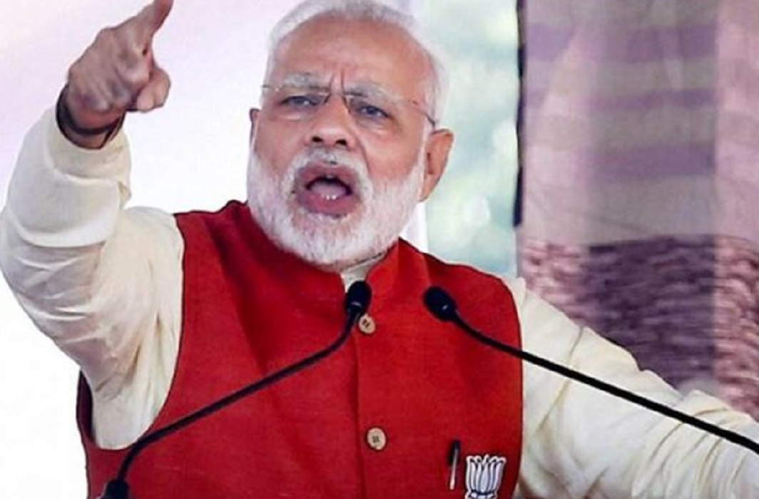 PM Modi's public dialogue in Jaipur, fundraising for 13 schemes of more than 2100 crores