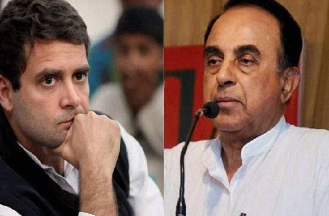 Subramaniam Swamy's big allegation on Rahul Gandhi, said - Rahul Gandhi takes drugs