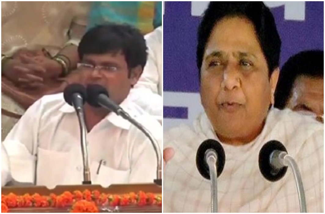 The BSP leader had to speak Gandhi as a foreigner, Mayawati out him from the party
