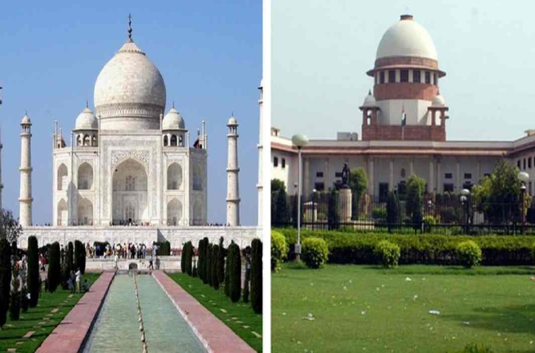 Supreme Court dismisses petition,Said- Not allowed to read prayers in Taj Mahal