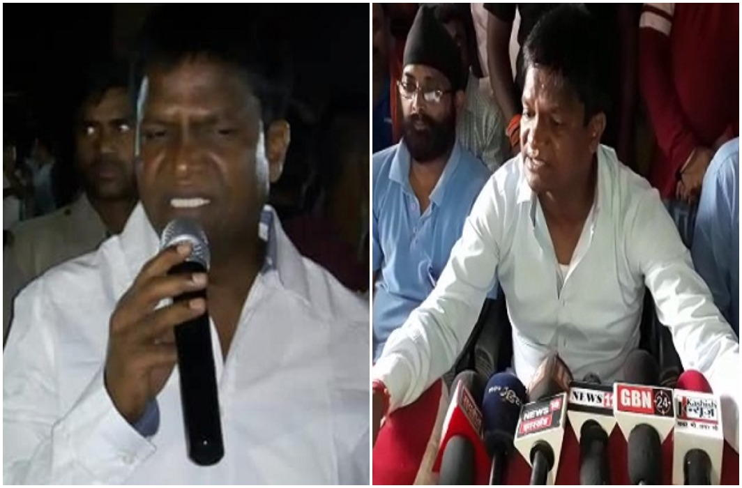 the war of the Worlds between Oriental Company and BJP MLA Dhullu Mahato