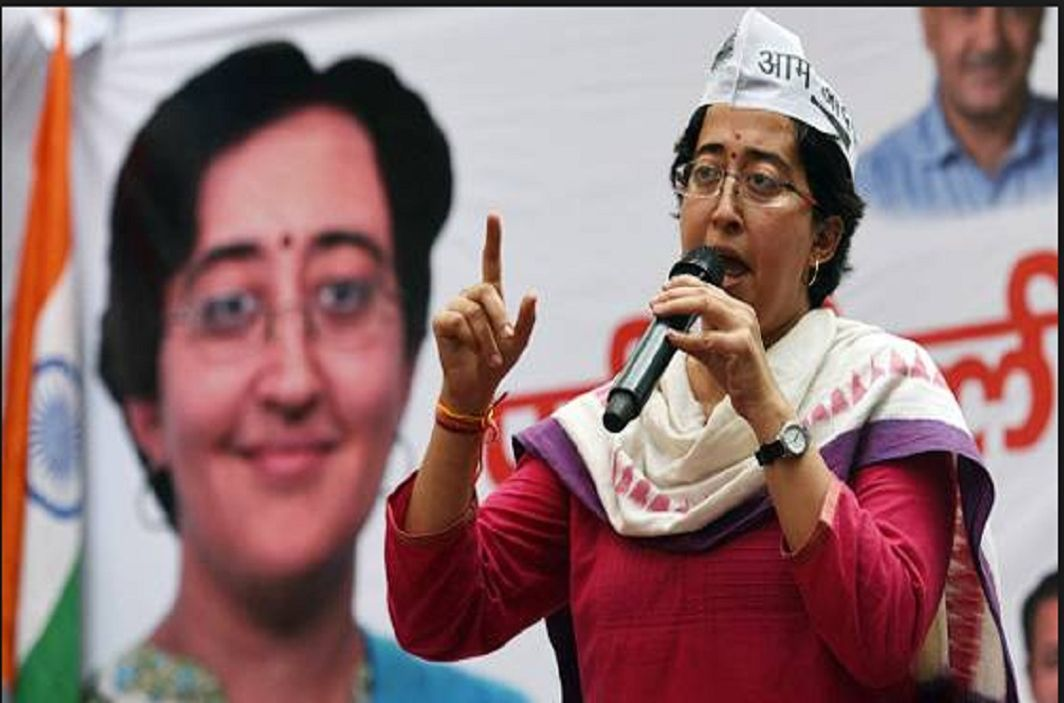 AAP leader Atishi Marlena has drops surename ,Ashutosh explain pain
