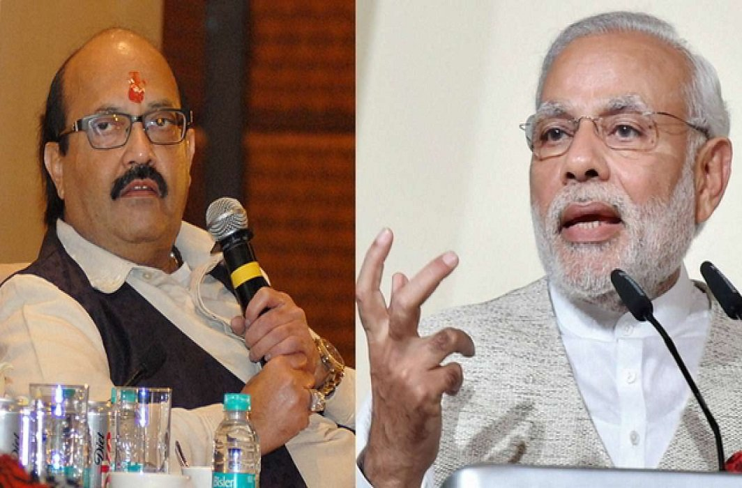 Amar Singh named Modi's name for his forthcoming life