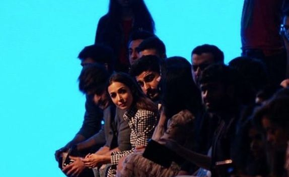 Arjun Kapoor and Malaika Arora appear in Lakme fashion week