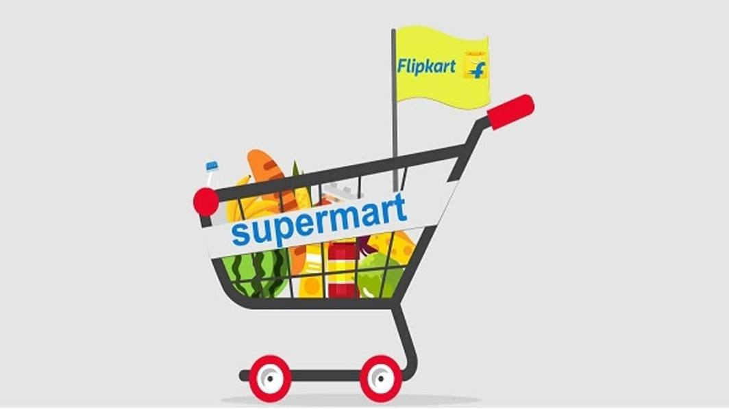 Flipkart Launches Its grocery Store Supermart