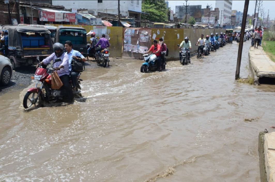 Heavy rains increased the hardships of the people