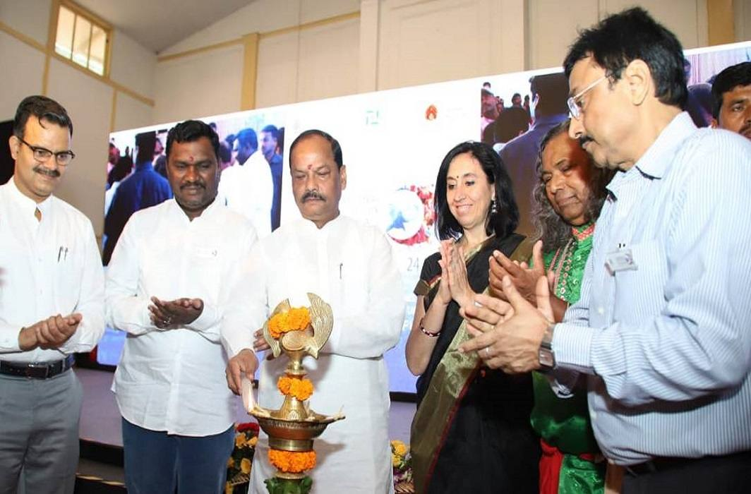 Jharkhand government organizes international watercolor festival between government mourns