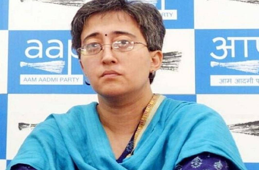 Lok Sabha candidate of 'AAP', Atishi Marlena has changed the surname, politics started