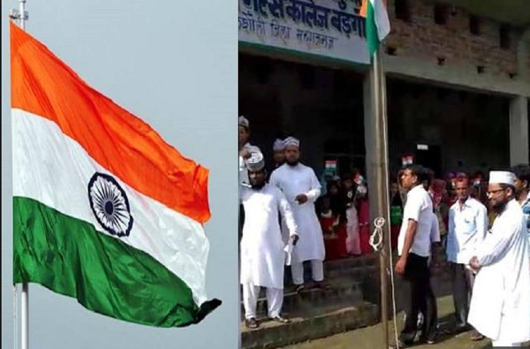 Maulvi protested against national anthem in Madarsas, police has arrested