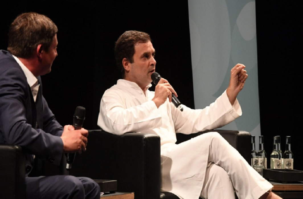 Once again, Rahul Gandhi countered the failures of the Modi government, started protesting