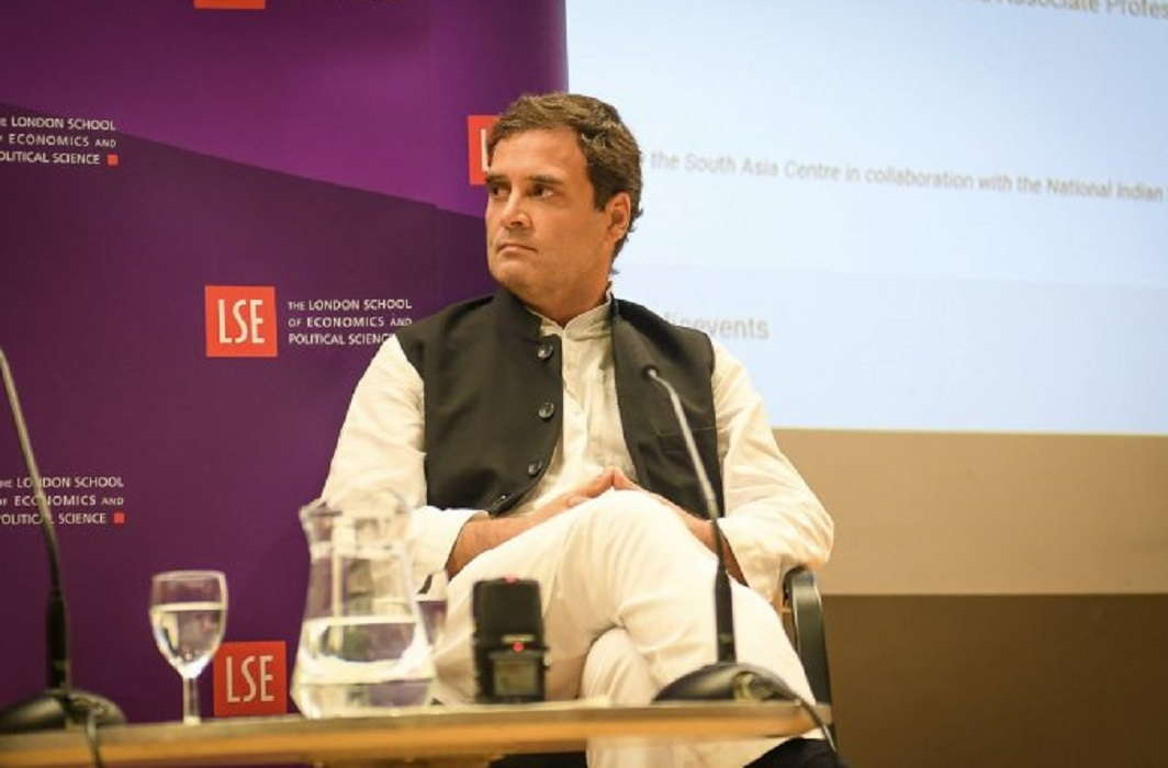 Rahul Gandhi targets BJP on foreign soil, told RSS, terrorist organization