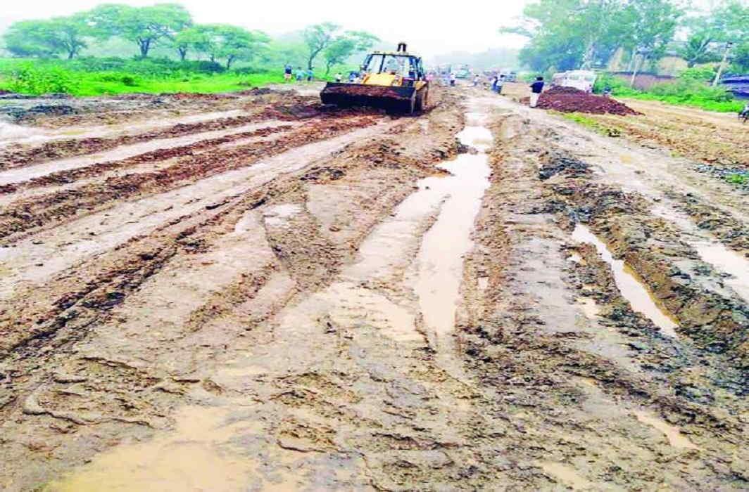 careful ! Do not go to Katni-Gumla National Highway Of Chhattisgarh