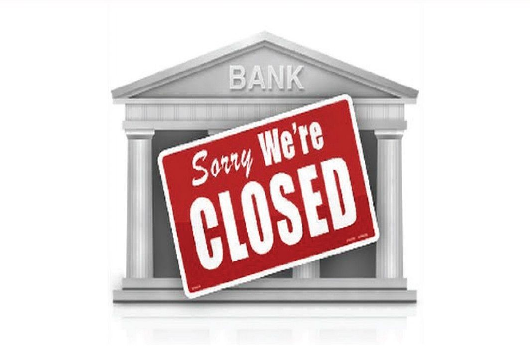 complete all work of banks in this week,Bank will open only two days in next week