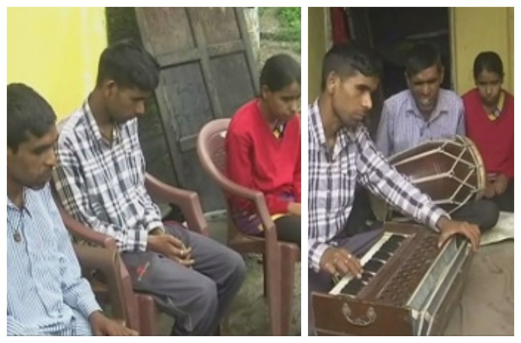 Listen to the children of Maa Saraswati,Prove talent from handicapped to dwarf