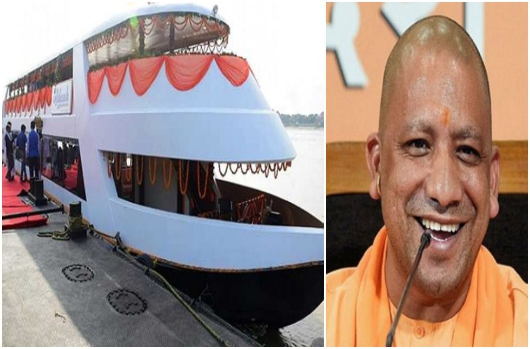 Yogi Sarkar gave the gift of luxury cruise to UP, Only Rs 750 Have fun