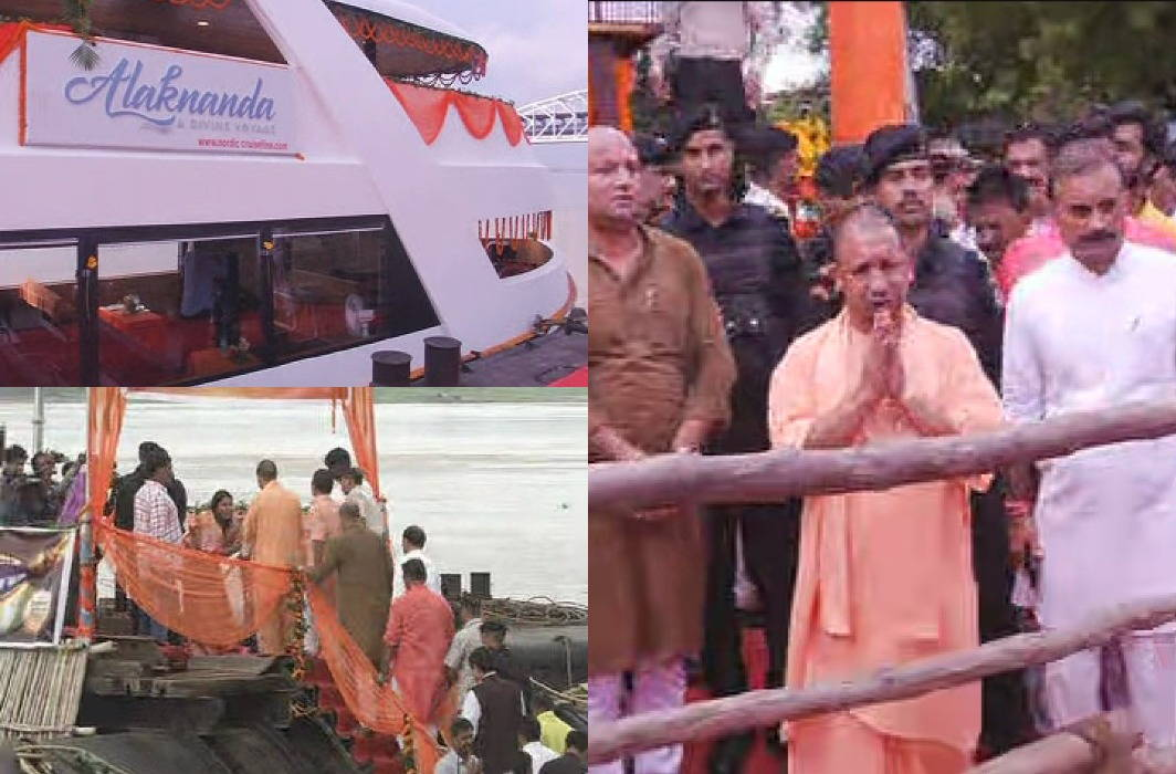 CM Yogi launches, Alka Nanda in the lap of mother Ganga