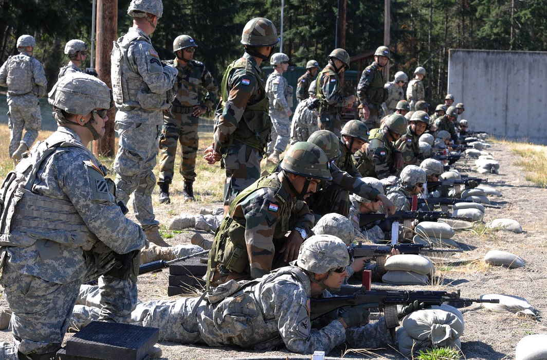Indo-American soldiers will do Joint excersice