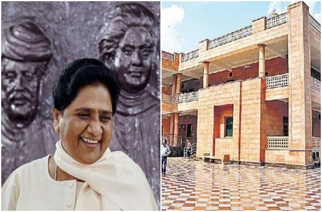 BSP supremo Mayawati gives thanks to BJP for her new bungalow
