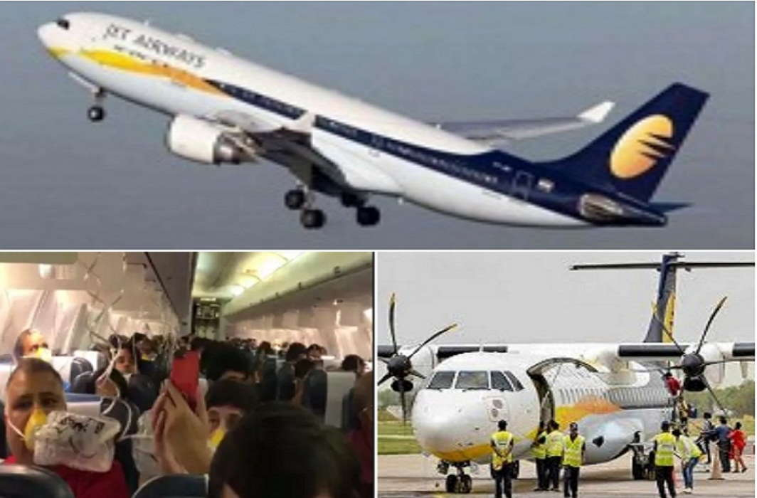 Bloodshed from nose-ear 30 passengers of Jet airplane By mistake of pilot