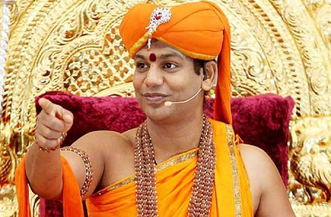 Swami Nityanand Will make spaking cow in tamil and sanskrit ans claim to make software