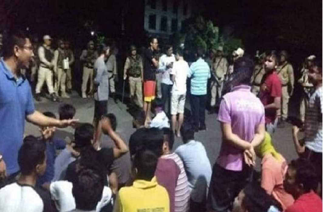 Raid at Manipur University and 89 students and 6 teachers arrested