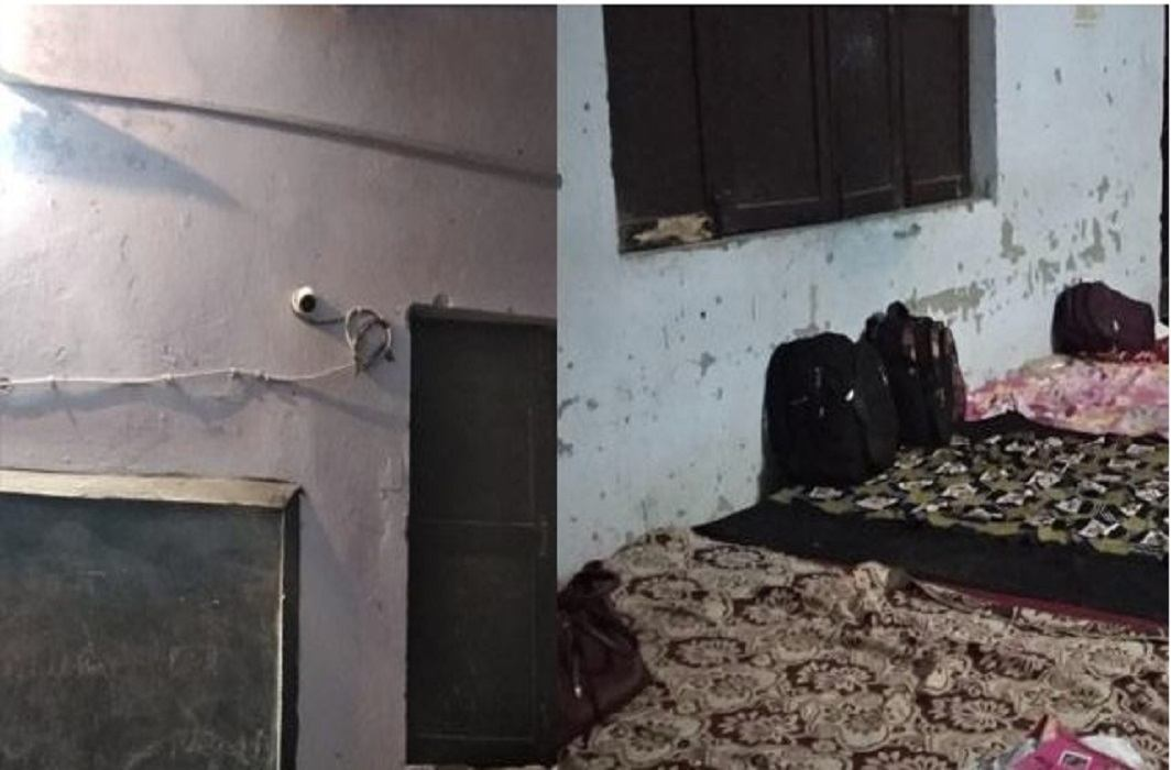 CCTV camera in the bedroom of Girls who join state-level competition