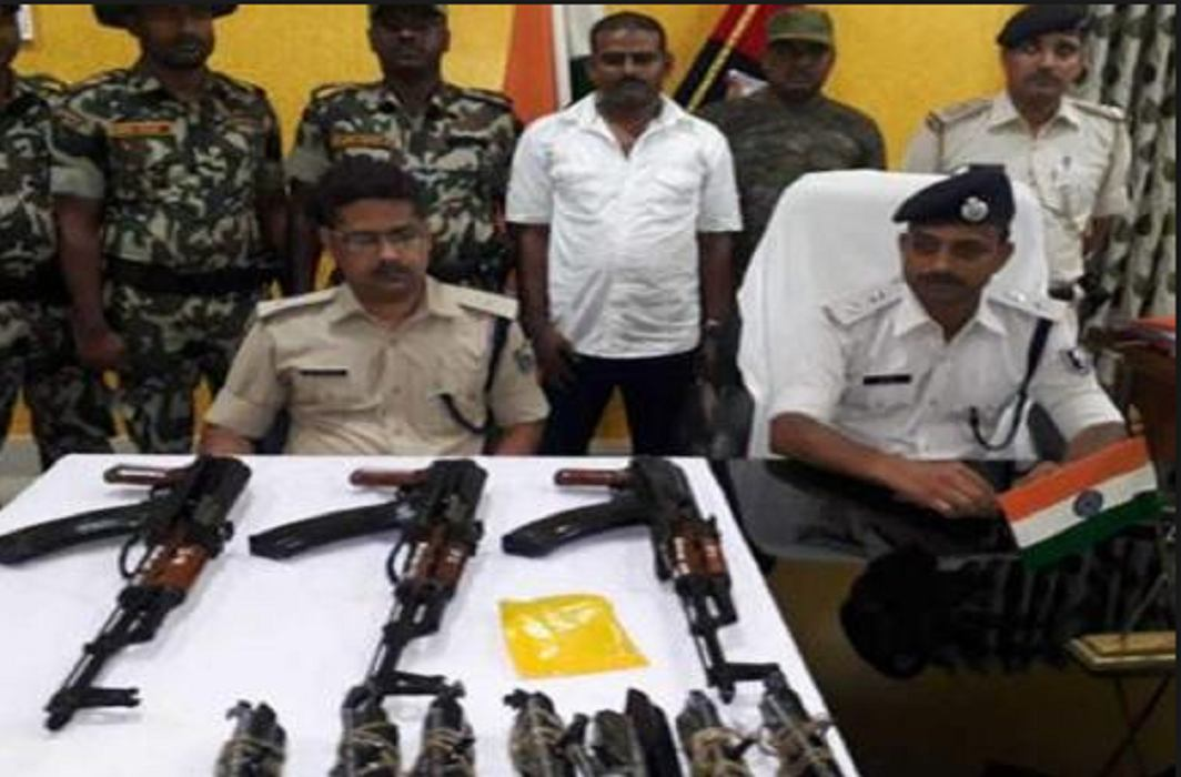 12 AK-47 rifles seized in Munger District of Bihar