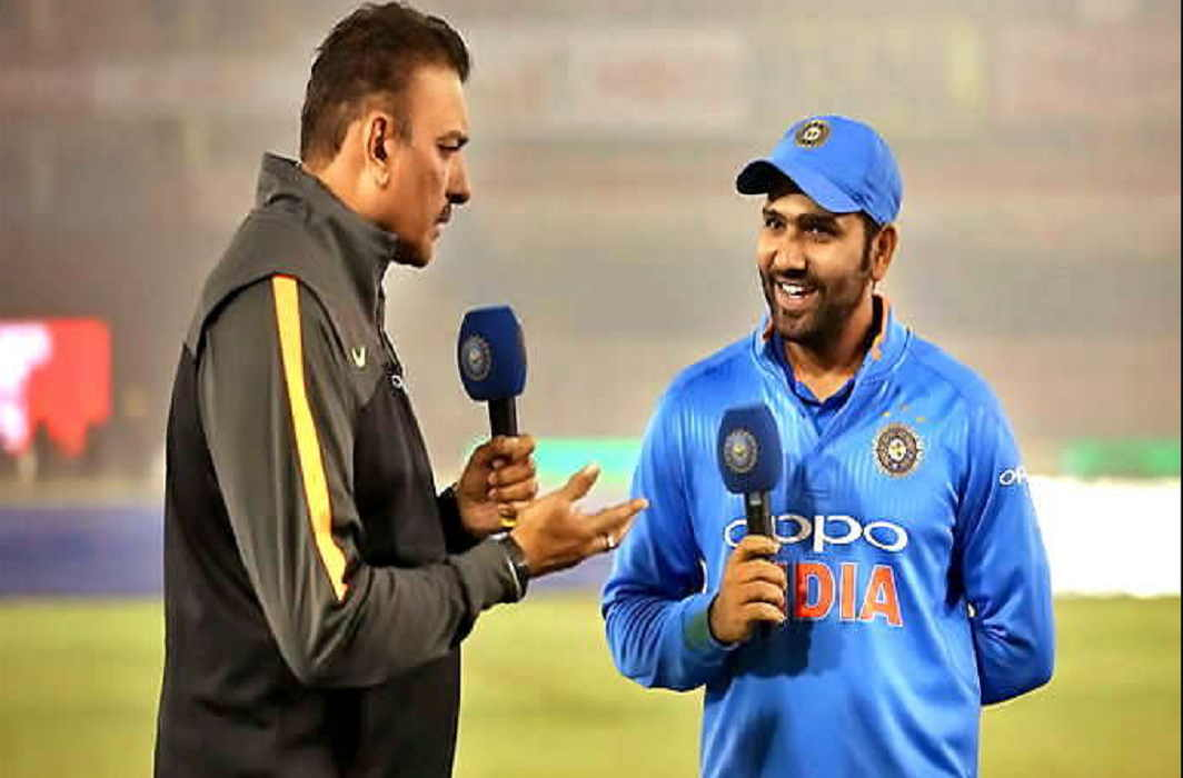 coach Ravi Shastri, happy with the captaincy of Rohit Sharma in Asia Cup