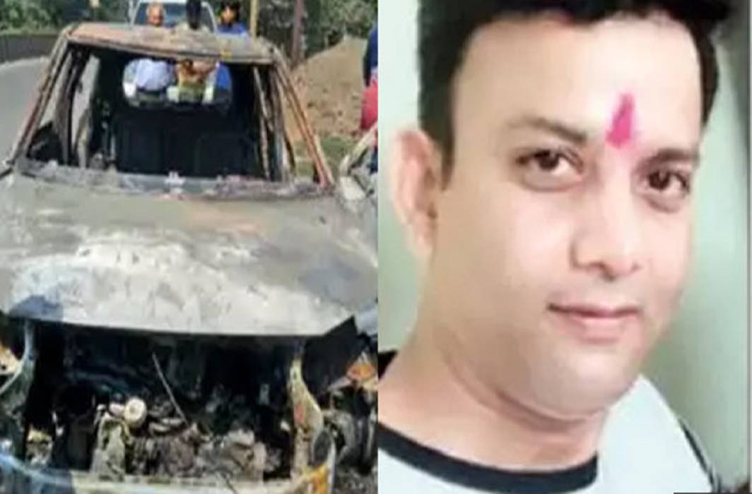 Aam Aadmi Party leader's death due to Burning car and Fear of murder