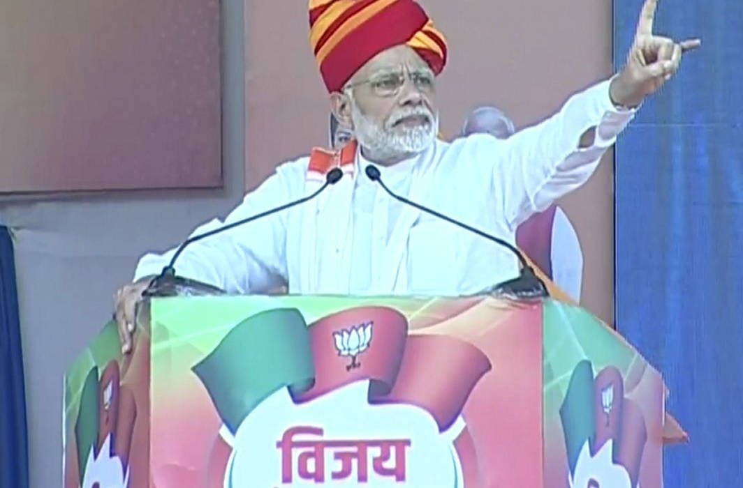 Modi's election campaign in Ajmer, says, 'BJP does not backtrack in giving account of work