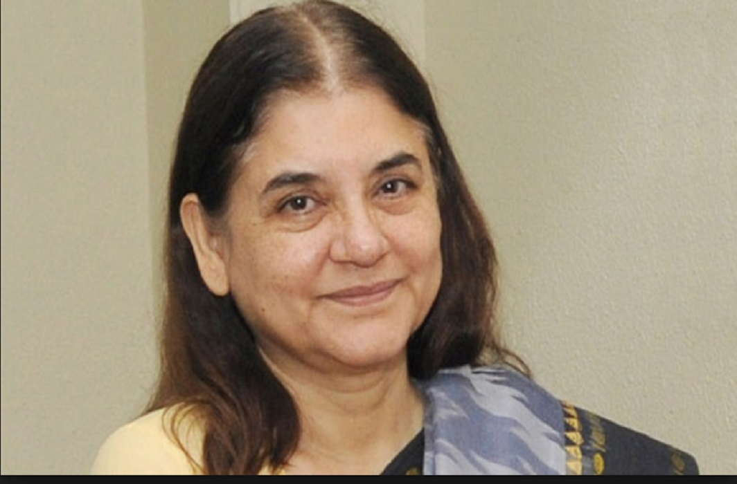 Women's Child Development Minister Maneka Gandhi expressed her happiness on #MeToo Campaign