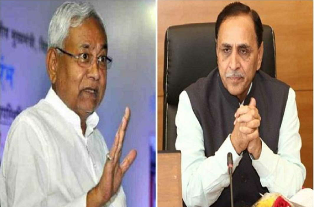 Attacking the people of UP-Bihar in Gujarat, Nitish Kumar spoke of Vijay Rupani on telephone