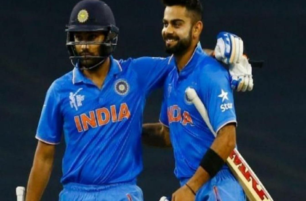 Indian batsmen are top on ICC ODI ranking and Rohit and Kohli on top.