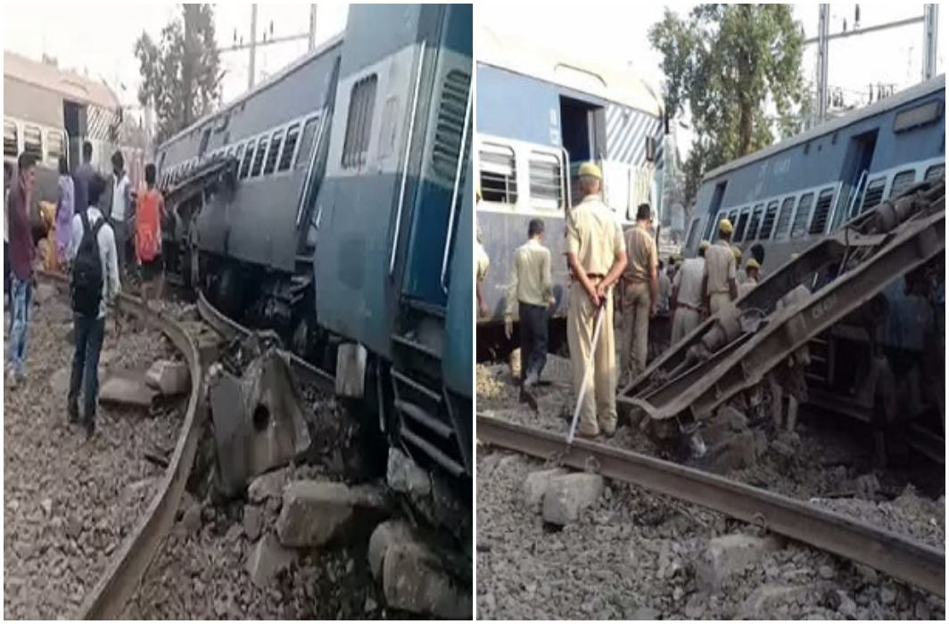 Farakka Express derails near Rae Bareli in Uttar Pradesh and 7 dead