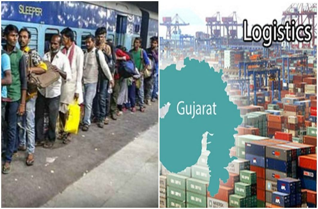 Exodus of North Indians from Gujarat continues
